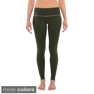 YOGiiZA Women's Organic Cotton Long Skinny Leggings