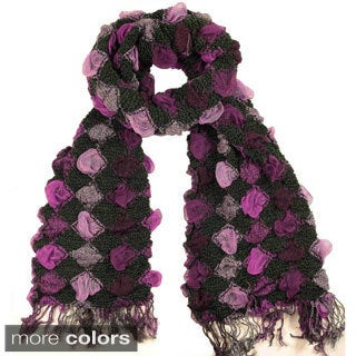 LA77 Diamond Bubble Scarf