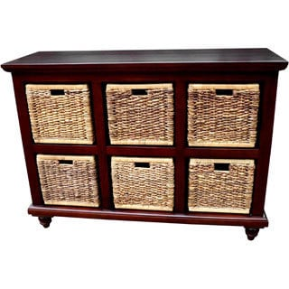 D-Art 6-basket Banana Leaf Chest (Indonesia)