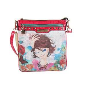 Nicole Lee Xochil Print Crossbody Bag