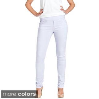 Bluberry Women's Slim Cut Colored Denim Jeans