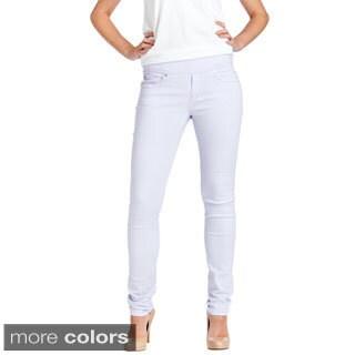 Bluberry Women's Slim Cut Colored Denim Jeans