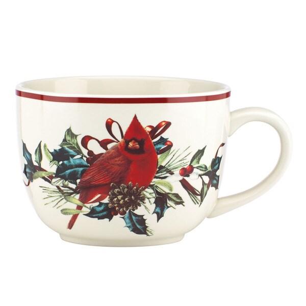 Shop lenox winter greetings soup cup bowl free shipping on orders lenox winter greetings soup cup bowl m4hsunfo