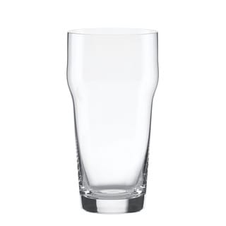 Lenox Tuscany Clas Craft Beer Glass Pint with Crown ((Set of 4))