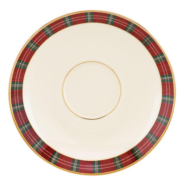 Lenox winter greetings plaid saucer free shipping on orders over lenox winter greetings plaid saucer m4hsunfo