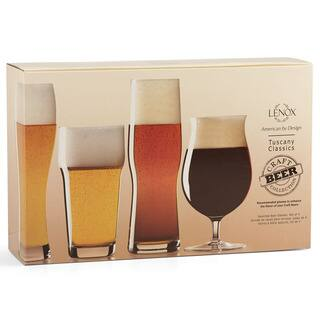 Lenox Tuscany Craft Beer Glass Collection Set