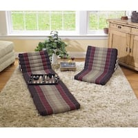 myZENhome Triangle Living Room Chair & Recliner