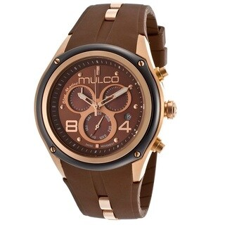 Mulco Bluemarine Collection Brown Chronograph Watch