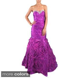 DFI Women's Mermaid Shirred Evening Gown https://ak1.ostkcdn.com/images/products/9547547/P16728300.jpg?_ostk_perf_=percv&impolicy=medium