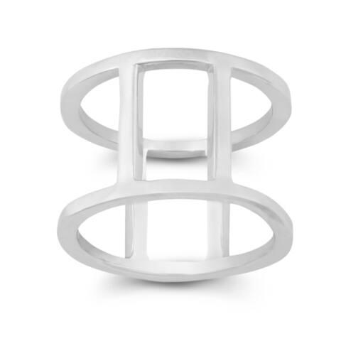 La Preciosa Sterling Silver Vertical Bars Ring