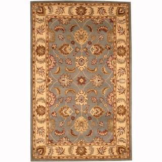 Herat Oriental Persian Indo Hand-tufted Tabriz Wool Rug (5' x 8')