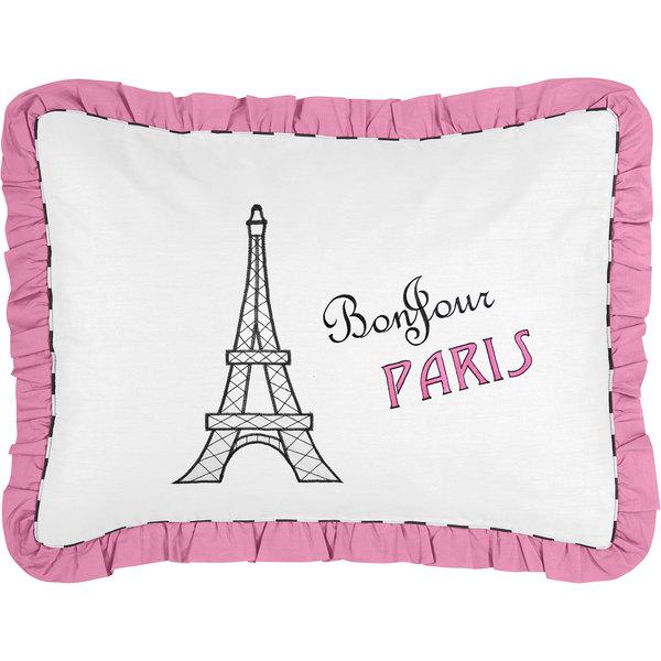 Paris Eiffel Tower Pillow 16 X 16: Shop French Eiffel Tower Pillow Sham For Paris Bedding Set
