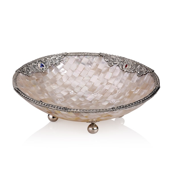 Shop Neda Behnam Sterling Silver Mother Of Pearl And