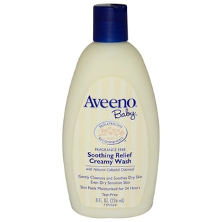Aveeno for Kids BaSoothing Relief 8-ounce Creamy Body Wash