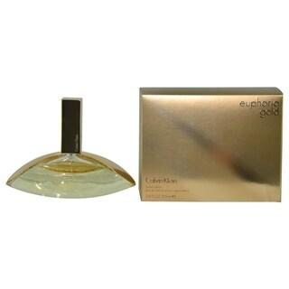 Calvin Klein Euphoria Gold Women's 3.4-ounce Eau de Parfum