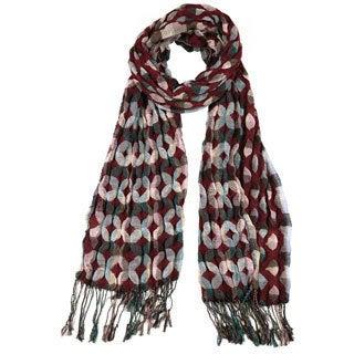 LA77 Diamond Pattern Scarf