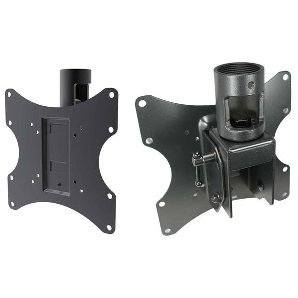 Shop Arrowmounts 23 To 42 Inch 1 5 Inch Npt Pipe Flat Tv Ceiling Mount Overstock 9548834