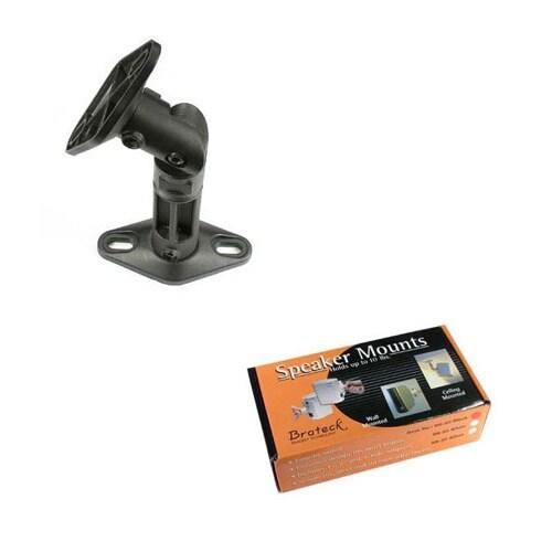 Shop Arrowmounts Sb 20 Black Plastic Speaker Mount Free