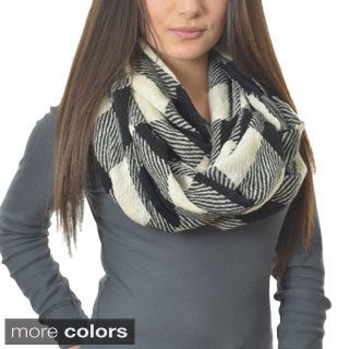 LA77 Checkered Infinity Scarf
