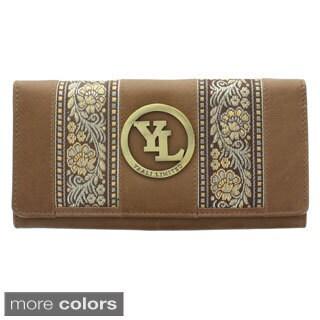YL Fashion Women's Leather Bi-fold Wallet