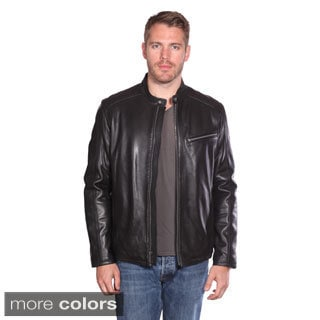 Christian Reed Men's Stanton Leather Moto Jacket