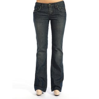 Stitch's Women's Boot Cut Denim Jeans