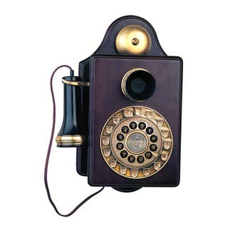 Paramount Antique 1903 Reproduction Wall Phone|https://ak1.ostkcdn.com/images/products/9549077/P16729913.jpg?impolicy=medium