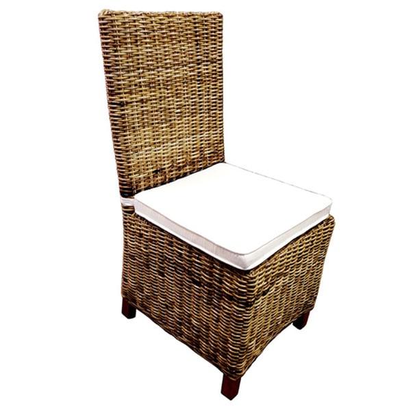 Shop Handmade D Art Carrolton Rattan Wicker Dining Chair