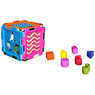 Hedstrom Foam Tactile Sensory Fun Cube