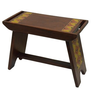 Handmade Hand-finished Craftsman House Bench (Ghana)
