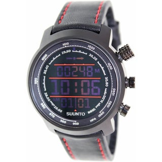 Suunto SS019171000 Elementum Terra Black/Red Leather Watch