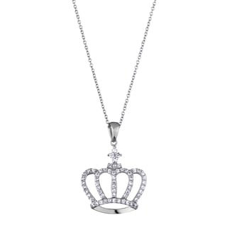 Princess Crown Charm Necklace