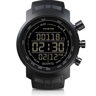 Suunto SS016979000 Elementum Terra All Black Rubber Watch