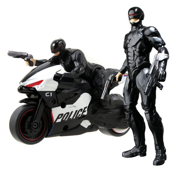 Robocop Cyle with Figure and 6-inch Light Up Figure