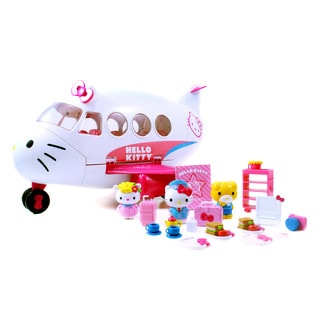 Jada Toys Hello Kitty Jet Plane Playset
