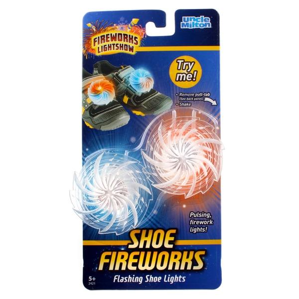 Uncle Milton Shoe Fireworks Show