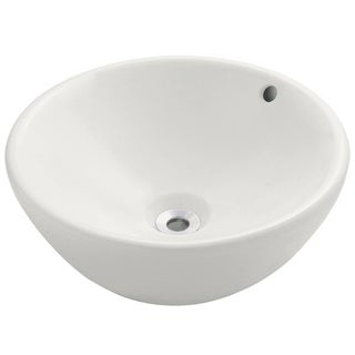 MR Direct v2200-b Bisque Porcelain Vessel Sink