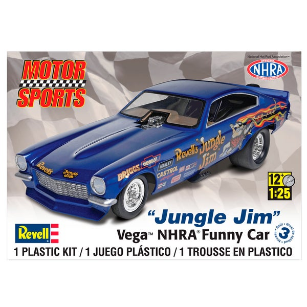 Revell NHRA Funny Car 1:25 Scale Model Car Kit