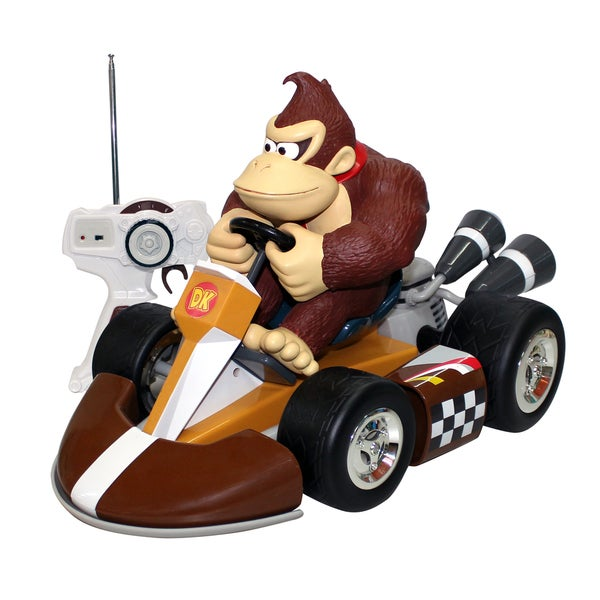 Super Mario Brothers Large Donkey Kong RC Kart