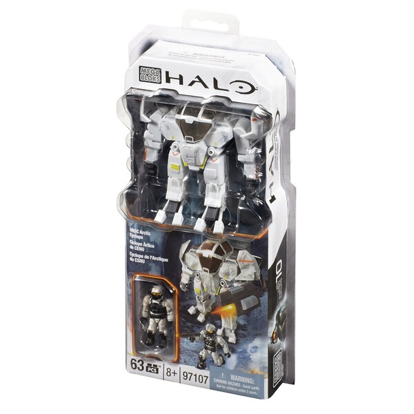 Mega Bloks Halo Arctic Cyclops
