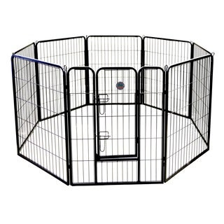 Go Pet Club Heavy Duty 8-Panel Pet Exercise Pen