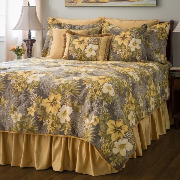 Sherry Kline Oasis Garden 4-piece Comforter Set