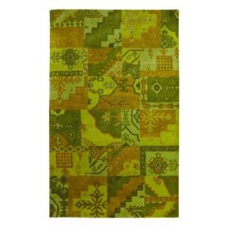 Utopia Green Rug (4' x 6' )