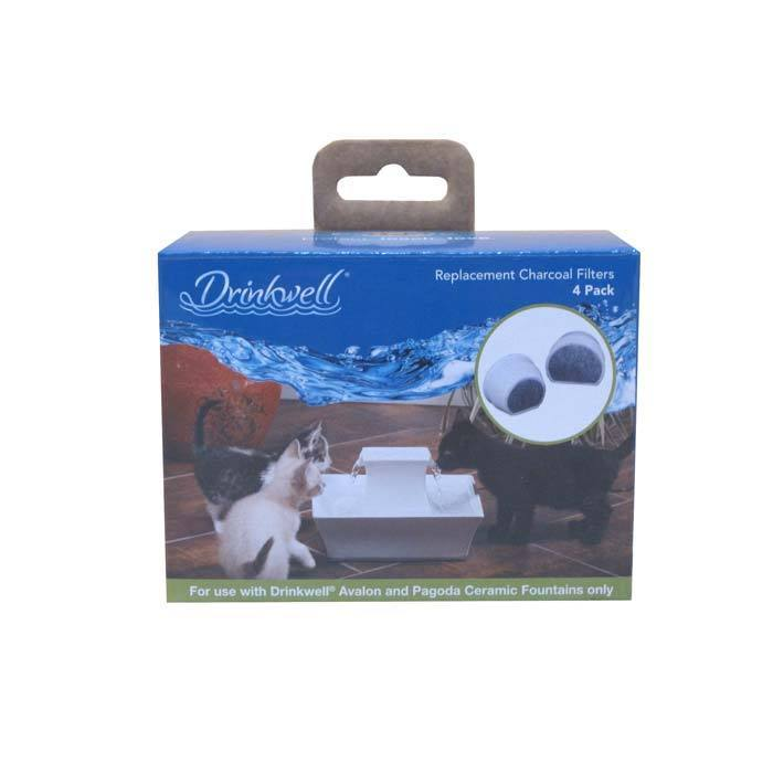 Drinkwell Avalon and Pagoda Replacement Charcoal Filters ...