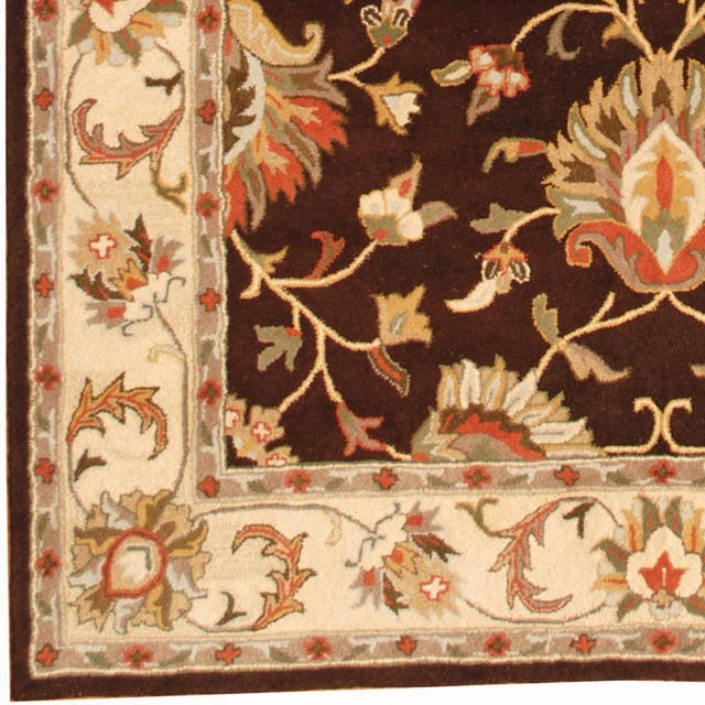 Herat Oriental Persian Indo Tabriz Wool Rug - 8' x 10'
