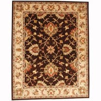 Herat Oriental Persian Indo Hand-tufted Tabriz Wool Rug (8' x 10')