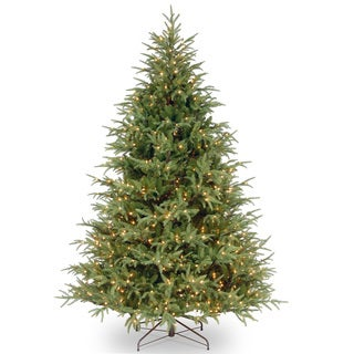 7.5-foot Frasier Grande Hinged Tree with 1000 Clear Lights