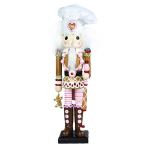Kurt Adler 17-inch Hollywood Gingerbread Nutcracker