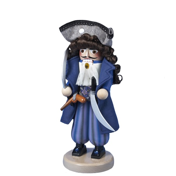 Kurt Adler 16-inch Steinbach Pirate Captain Nutcracker
