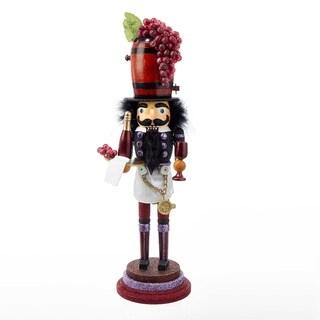Kurt Adler 19-inch Hollywood Wine Nutcracker
